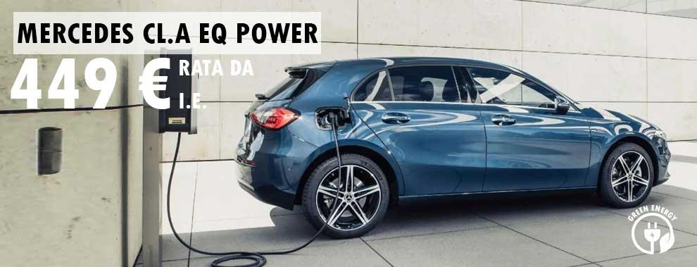 Promozione noleggio Mercedes classe A Eq Power